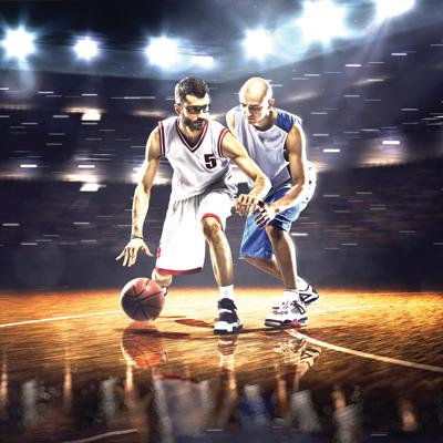 Bloc Vision Sportsdeballes Basket