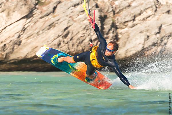 Athlète Demetz : Kite surfeur Mika Fernandez